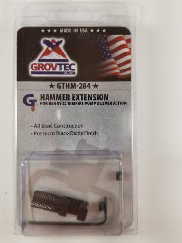 GrovTec US GTHM284 Hammer Extension for Henry 22 Black Durable stainless steel