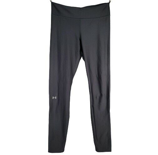 Under Armour Small Athletic Leggings Gray Pull On Stretch Workout Running
