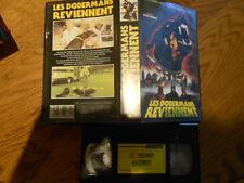 VHS (SECAM) Les Dobermans Reviennent (avec F. Astaire, J. Franciscus) - 1976