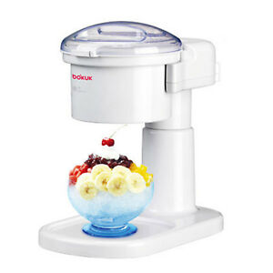 Electric Snow Cone Maker Machine Ice Shaver Crusher Smoothie Slush Maker