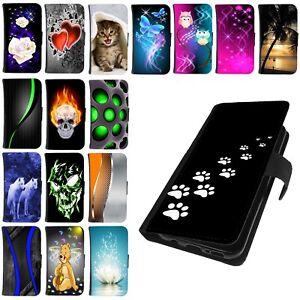 Schutz-Huelle-fuer-Huawei-P20-P30-Lite-Pro-Handy-Tasche-Cover-Case-Etui-Motiv