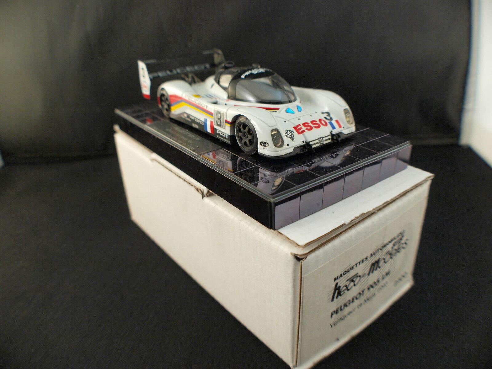 Heco Miniatures Peugeot 905 LM #3 1993 Brabham Brabham Brabham 1/43 neuf inbox/boîte MIB RARE c99741