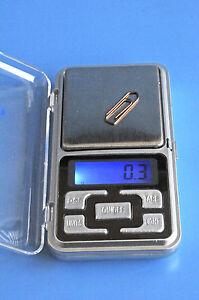 Mini-Digital-Waage-Feinwaage-Gold-Schmuck-Briefe-Pulver-Taschenwaage-500g-0-1g