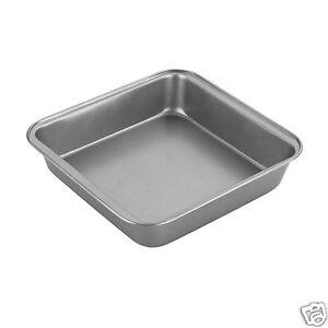 Chef-Aid-Non-Stick-Brownie-Baking-Tray-Tin-amp-Square-Cake-Tin-Pan