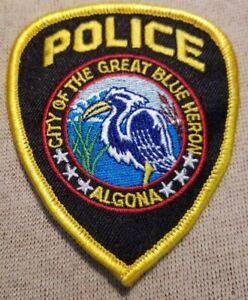HOQUIAM WASHINGTON POLICE SHOULDER PATCH