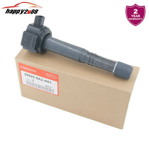 One Ignition Coil 30520-5A2-A01 For 2016 Honda Accord CR-V ILX 2.4L 4-CYLINDER