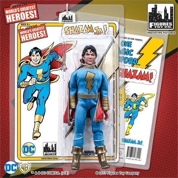 DC Retro Mego Kresge Style Shazam Jr Limited Edition Action Figure