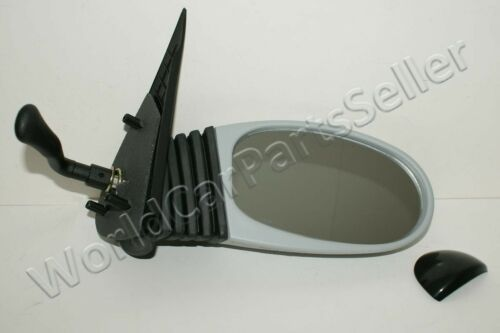 1998-2010 Fiat Seicento 600 Primed Mirror Lever type RIGHT RH