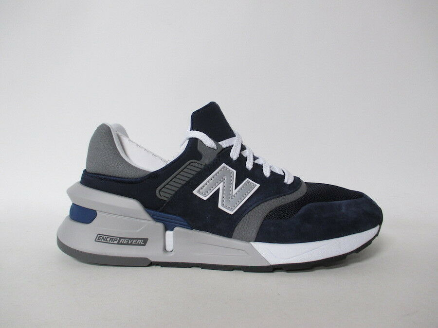 New Balance 997 Navy bluee Black White Grey Fresh Foam Sz 9.5 MS997HGB
