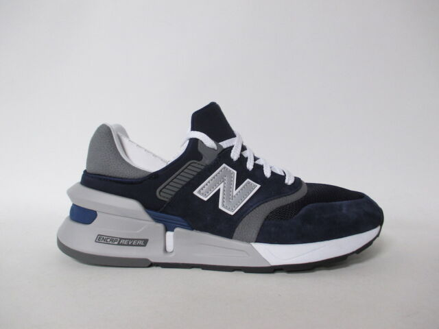new concept 727a0 51cc3 New Balance 997 Navy Blue Black White Grey Fresh Foam Sz 11 MS997HGB