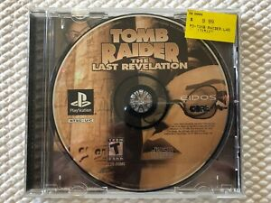 Tomb Raider The Last Revelation Sony Playstation Ps1 Disc
