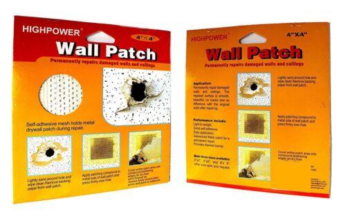SELF ADHESIVE WALL PATCH REPAIR FOR WALLS CEILING PLASTER UK Seller