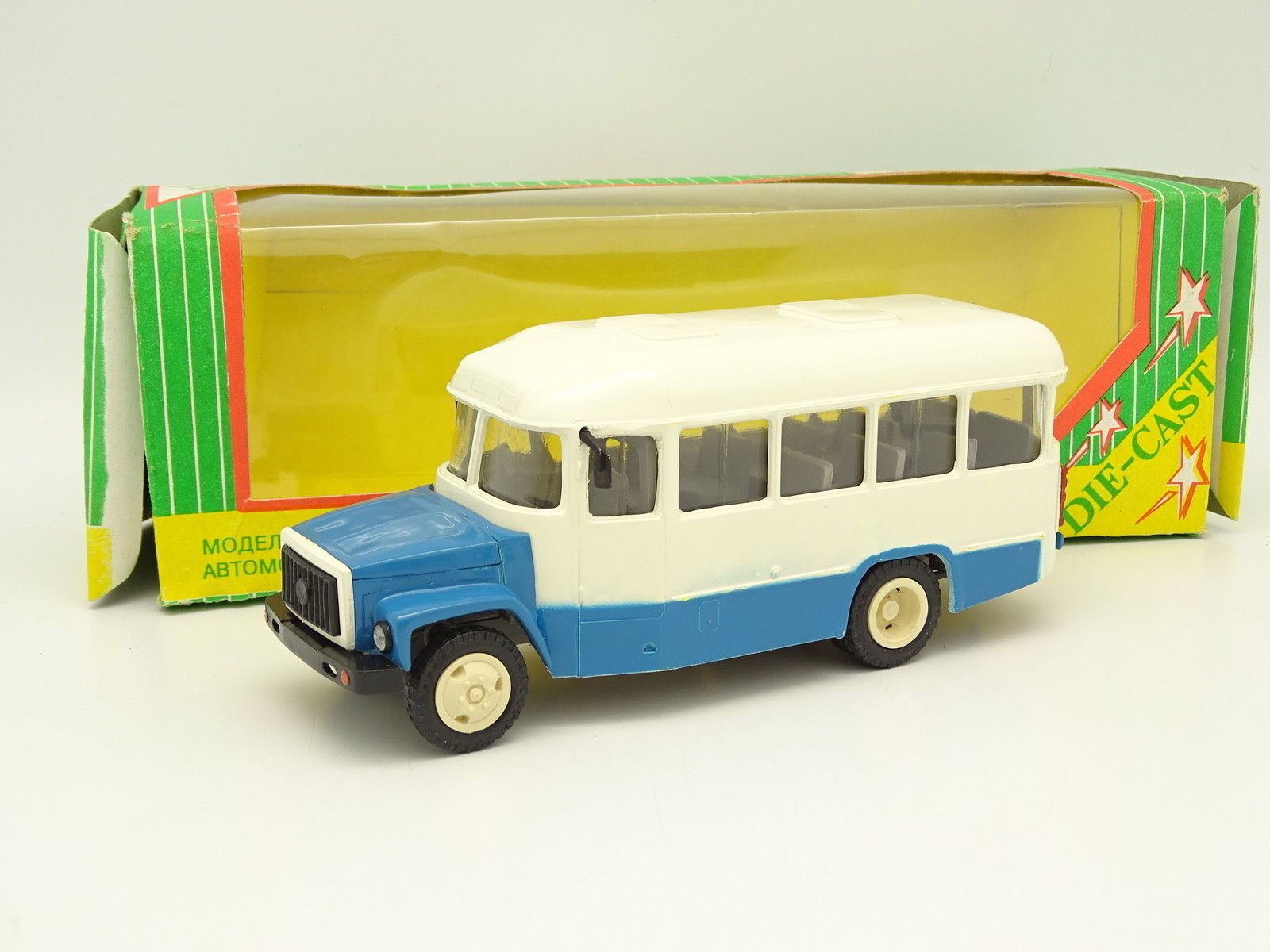 Companion ussr 1 43 - bus kavz 3270 as bluee and white