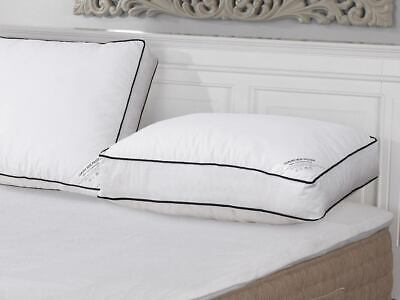 2//4 Pack Box Pillow Protector Ziped Piping Large Size Premium Cotton Anti Allerg