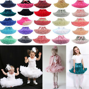 Baby-Girl-Fluffy-Ballet-Tutu-Princess-Party-Skirt-Dancewear-Kids-Fancy-Costume
