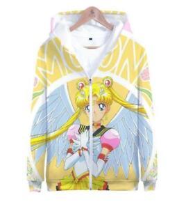 Sailor moon Cosplay Anime Kapuzen Sweatshirt Kapuzenpulli pulli Hoodie Pullover