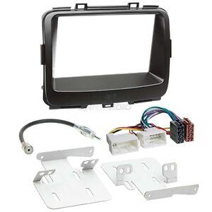 Akcesoria elektroniczne Motoryzacja: Części Kia Carnival 02-05 2-DIN Autoradio Einbauset Adapter Kabel Radioblende
