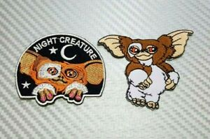 """Gremlins Movie GIZMO Character 3 1//4/"""" Wide embroidered Iron//Sew On Patch"""