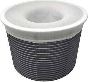 20 Pk Swimming Pool Filter Saver Skimmer Basket Sock