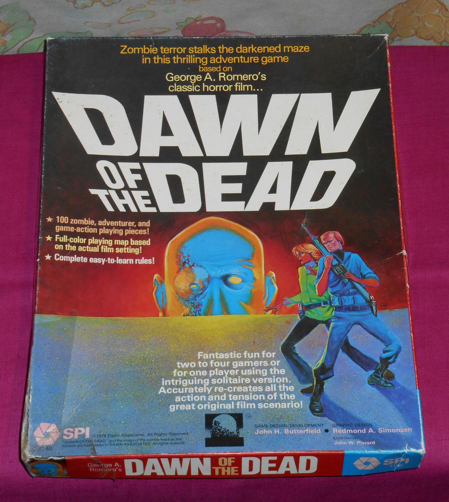 Vintage SPI DAWN OF THE DEAD game