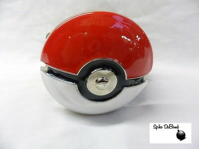 OFFICIALLY COOL ROUND POKEMON POKEBALL BUCKLE WITH BELT *BRAND NEW*