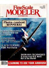 FINE SCALE MODELER MAGAZINE - November 1990