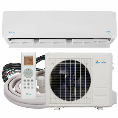 9000 BTU Ductless Mini Split Air Conditioner with AC Heat Pump by Senville