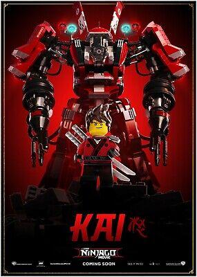 A0 A1 A2 A3 A4 Sizes Available Lego Ninjago Giant Poster Art Print