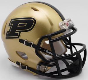 PURDUE-BOILERMAKERS-NCAA-Riddell-SPEED-Authentic-MINI-Football-Helmet