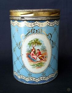 VTG Fox's Glacier Mints Tin With Screw On Lid - 13cm Tall   FREE Delivery UK*