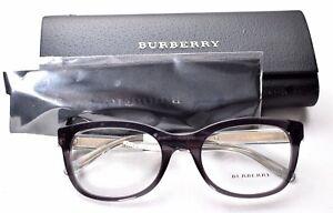 e987616df81 Burberry B2213 3544 Dark Grey Gray Eyeglass Glasses Frames 53-20-140 ...