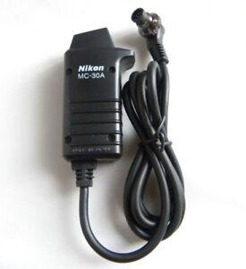 Nikon-MC-30A-Remote-Trigger-Release-Cord-D3-D3s-D3x-D4-D200-D300-D700-D800-D810