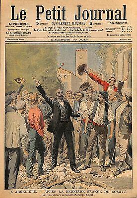 ARGELIERS MARCELIN ALBERT & LA REVOLTE DES VIGNERONS ILLUSTRATION 1907 |  eBay