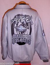 "AVIREX ""MAXIMUM VELOCITY"" NEW YORK LEATHER  Jacket/Coat***4XL***$699***EXCELLENT"