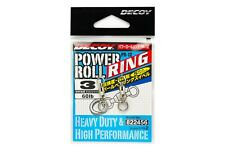 Decoy PR-12 Power Roll Ring Ball Bearing Swivel with Solid Ring Size 3 2456