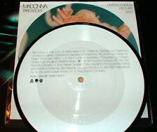 """MADONNA TAKE A BOW LIMITED PICTURE DISC 7"""" VINYL UK 45 giri/rpm from Bedtime LP"""