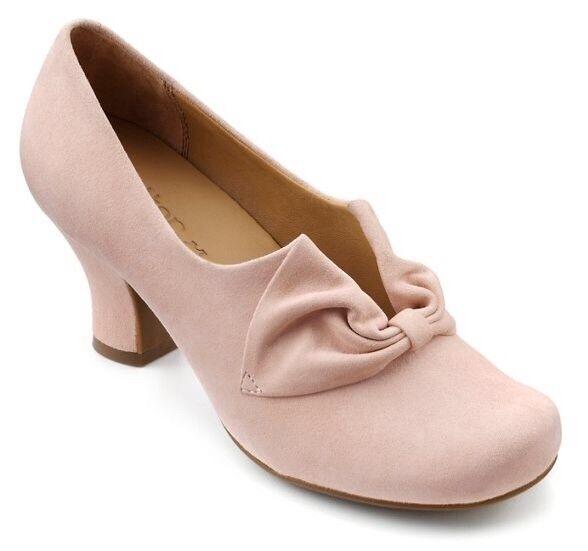 Più caldo Donna Powder 4.5 Pink Suede Shoes Taglia 4.5 Powder ampi Matrimonio 768d57