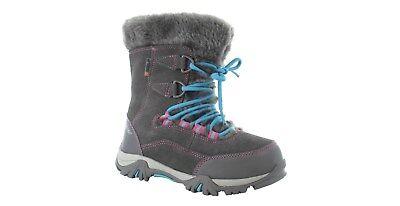 HI-TEC ST. MORITZ 200 GIRLS WINTER BOOTS Sizes UK J13 + J11. Warm Boots