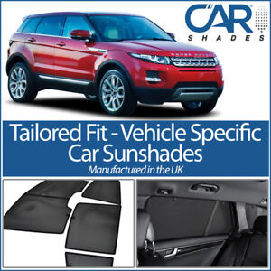 Land Rover Evoque 5 door 2011 On CAR WINDOW SUN SHADE BABY SEAT CHILD BOOSTER