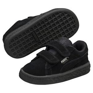 PUMA Basket Suede à 2 sangles pour enfant Unisexe Chaussures ...