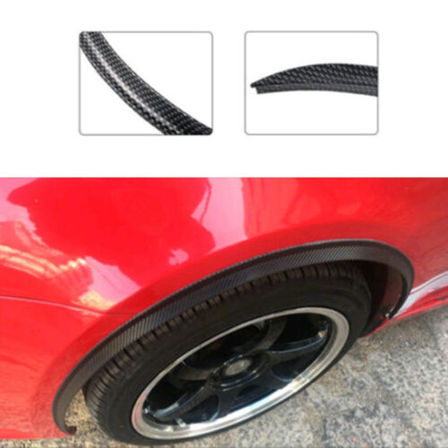 73 x 2.5cm Car Wheel Eyebrow Protector Strip Black Rubber Sticker Accessories