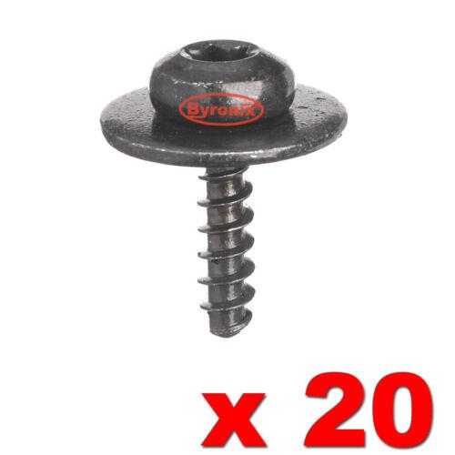 Motor Bajo Bandeja De Metal Tuerca Perno Torx Tornillos de Montaje para Ford Focus Fiesta X 20