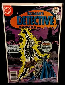 DETECTIVE-COMICS-469-1st-Appearance-Doctor-Phosphorus-DC-Simonson-1977-VF-NM