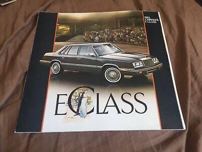 1991 Chrysler 300 Concept Original Brochure Catalog Prospekt