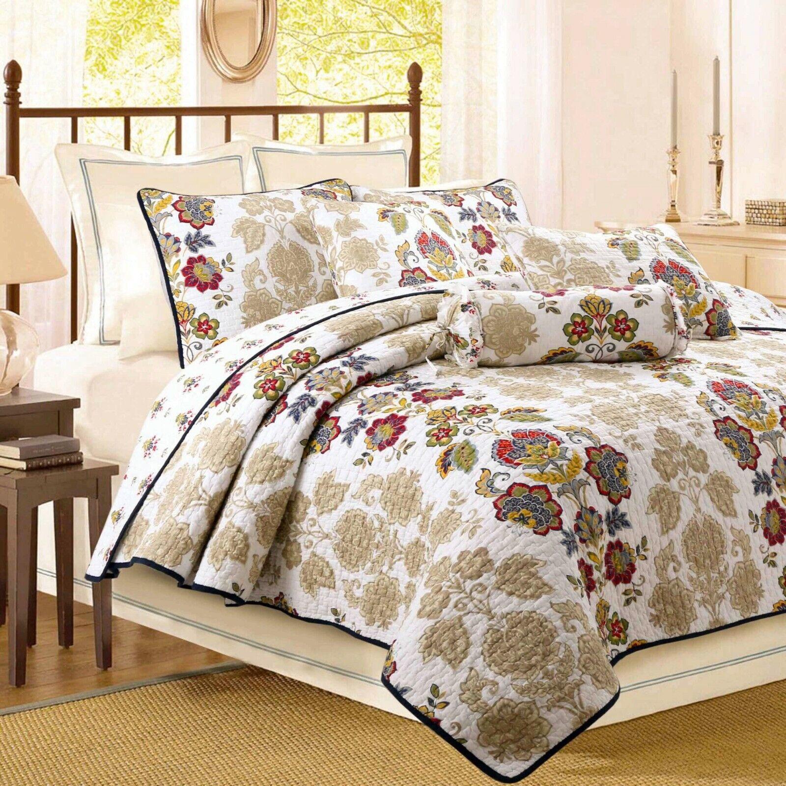 Moraga Vintage Reversible Cotton Quilt Set, Bedspreads, Coverlet