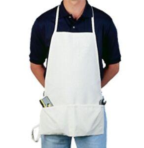 6 NEW Duck Canvas Apron / Carpenter / Shop/ Craft / Work / Art - Heavy Duty