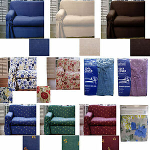 Easycare-Cotton-Polyester-1-to-2-Seater-OR-2-to-3-Seater-Sofa-Couch-Cover