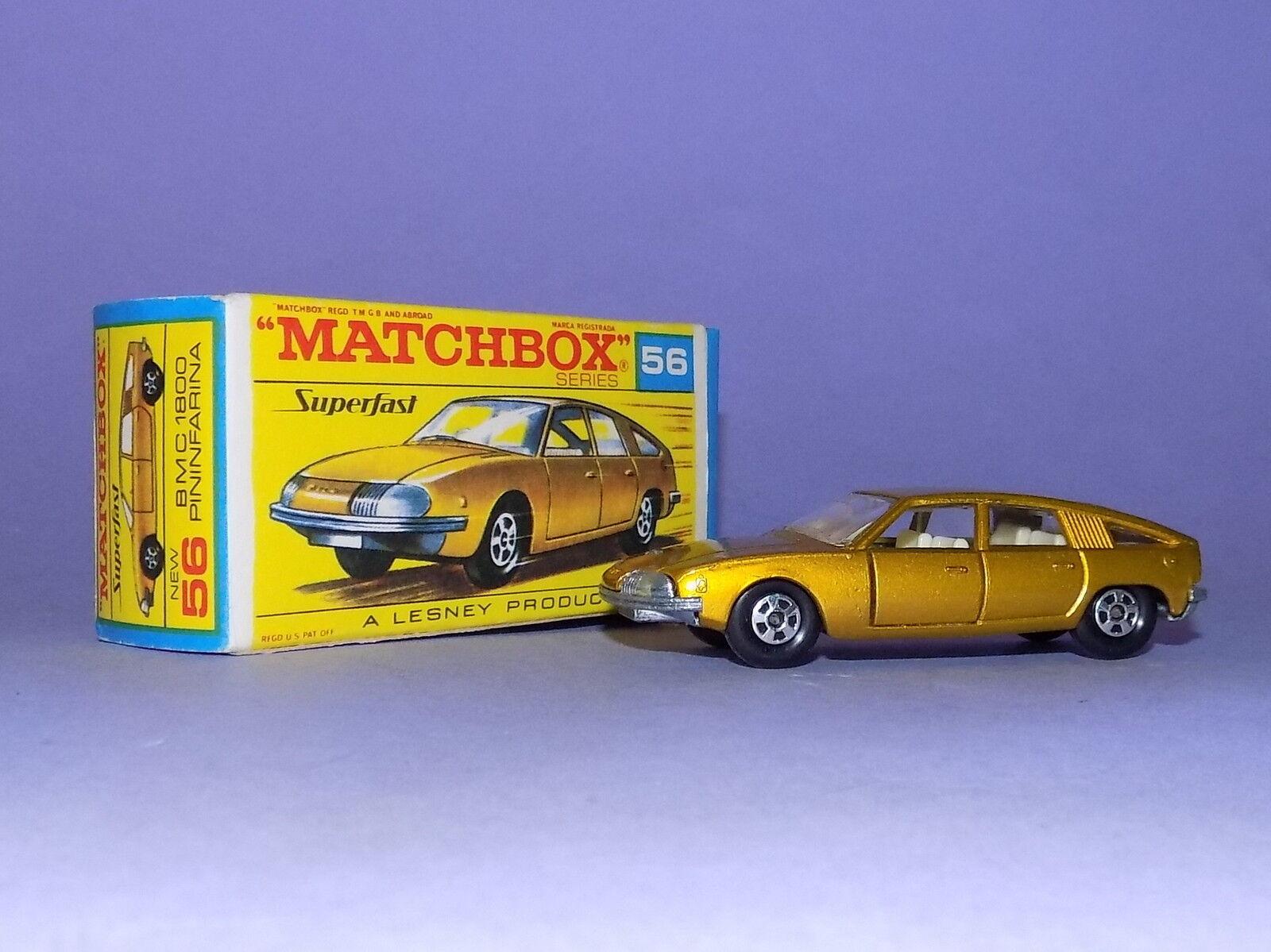 1969  MATCHBOX  N. 56  BMC 1800 PININFARINA