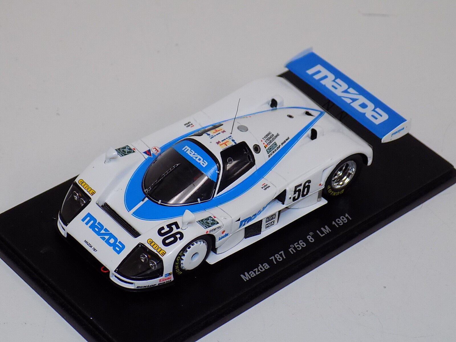 1/43 Spark Mazda 757 car   56 8th in 1991 24 Hours of LeMans  S0649