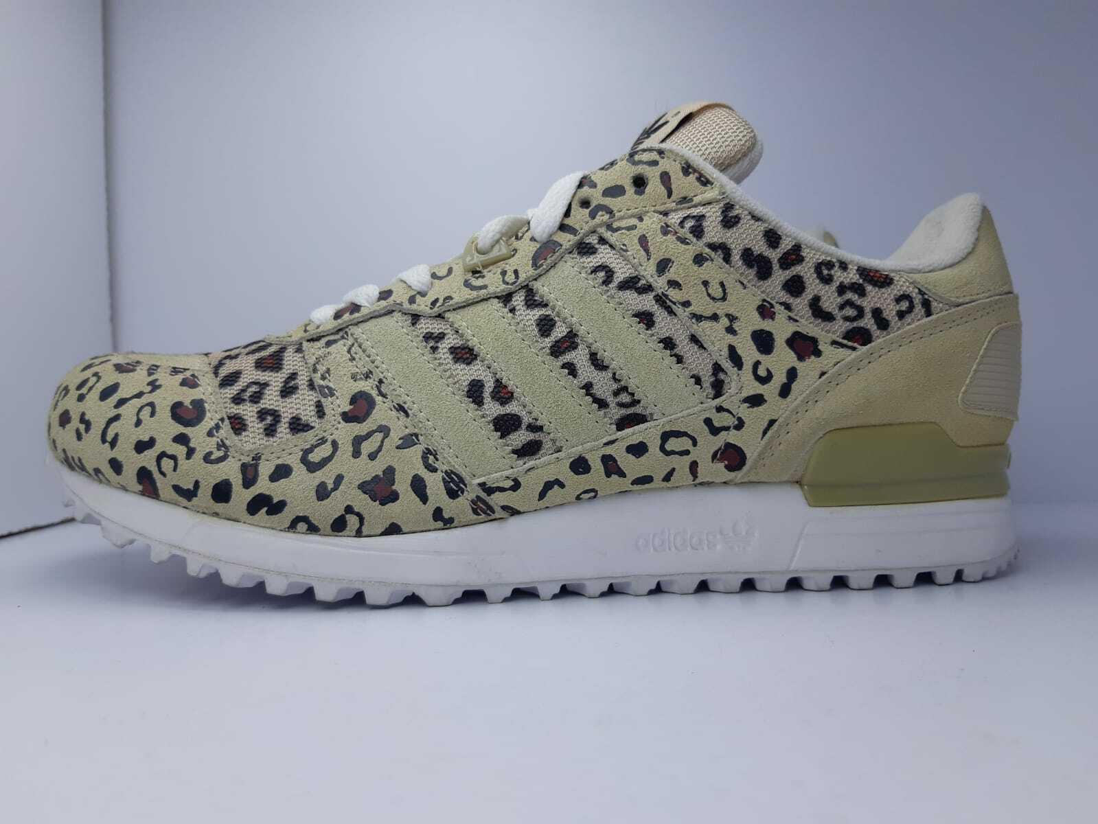 Chaussures Adidas N. 44 2 3 UK 10 Originals ZX 700 Leopard Cheetah Retro ART. B34330